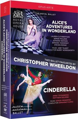 Dutch National Ballet, … - Two Ballet Favourites by Christopher Wheeldon - Alices Adventures In Wonderland & Cinderella (Opus Arte, 2 DVDs)
