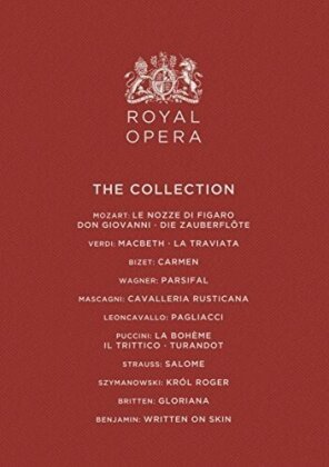 Orchestra of the Royal Opera House, … - Royal Opera Collection (Opus Arte, 18 Blu-rays)