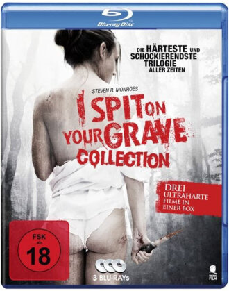 I Spit on your Grave - Collection (3 Blu-rays)