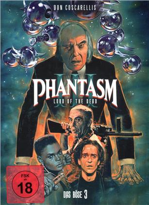 Phantasm 3 - Das Böse 3 - Lord of the Dead (1994) (Cover A, Mediabook, Blu-ray + 2 DVDs)