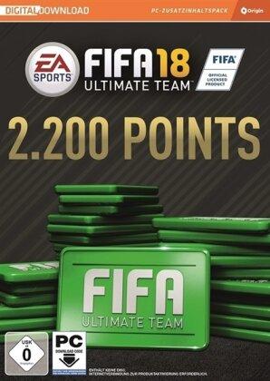 Fifa 18 2200 FIFA Points Ultimate Team