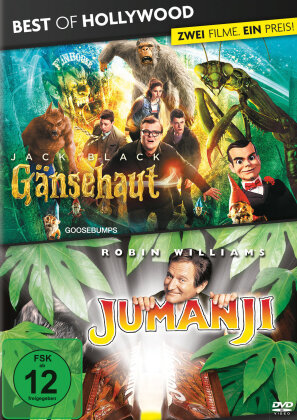 Gänsehaut / Jumanji (Best of Hollywood, 2 DVDs)
