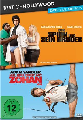 Der Spion und sein Bruder / Leg dich nicht mit Zohan an (Best of Hollywood, 2 Movie Collector's Pack)