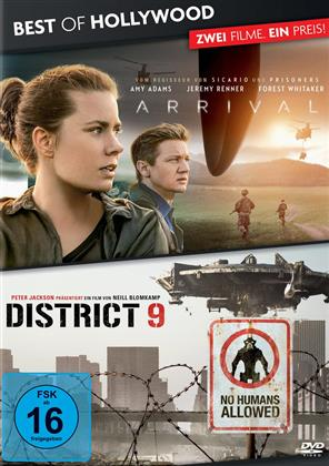 Arrival / District 9 (Best of Hollywood, 2 Movie Collector's Pack)
