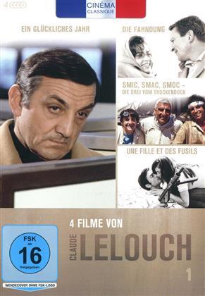 Claude Lelouch - Box 1 (Cinéma Classique, 4 DVDs)