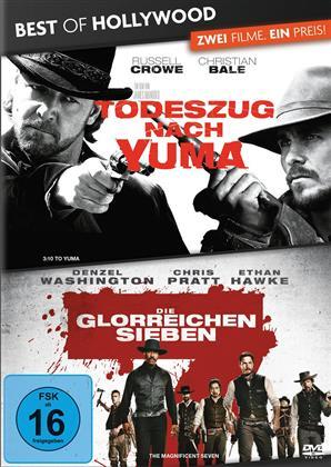 Todeszug nach Yuma / Die glorreichen Sieben (Best of Hollywood, 2 DVDs)