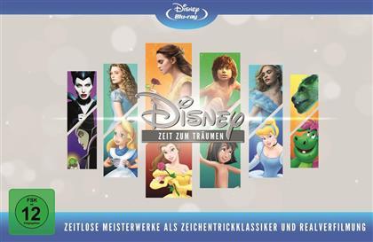 Disney - Zeit zum Träumen - Zeitlose Meisterwerke als Zeichentrickklassiker und Realverfilmung (Limited Edition, 12 Blu-rays)