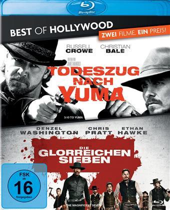 Todeszug nach Yuma / Die glorreichen Sieben (Best of Hollywood, 2 Blu-rays)