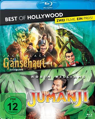 Gänsehaut / Jumanji (Best of Hollywood, 2 Blu-rays)