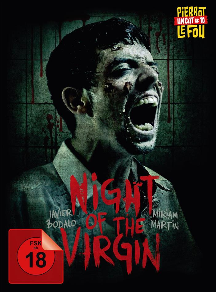 Night of the Virgin (2016) (Limited Edition, Mediabook, Special Edition, Uncut, Blu-ray + 2 DVDs)