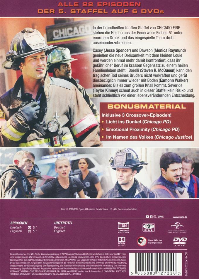 Chicago Fire Staffel 5