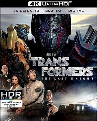 Transformers 5 - The Last Knight (2017) (4K Ultra HD + Blu-ray)