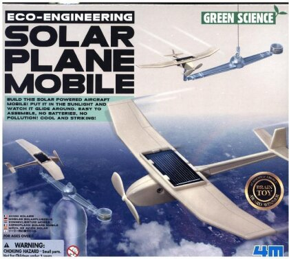 Eco-Engineering - Solar Plane Mobile (Experimentierkasten)