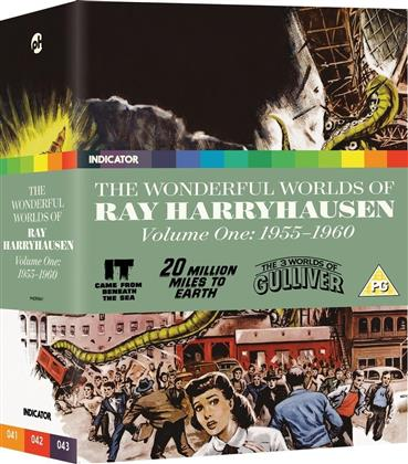 The Wonderful Worlds Of Ray Harryhausen - Volume 1 - 1955-1960 (Limited Edition, 3 Blu-rays)