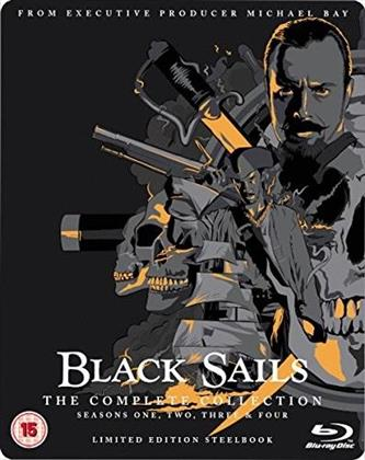 Black Sails - The Complete Collection - Seasons 1-4 (13 Blu-rays)