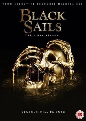 Black Sails - Seasons 4 - The Final Season (3 DVDs)
