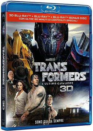 Transformers 5 - L'ultimo cavaliere (2017) (Blu-ray 3D + 2 Blu-ray)