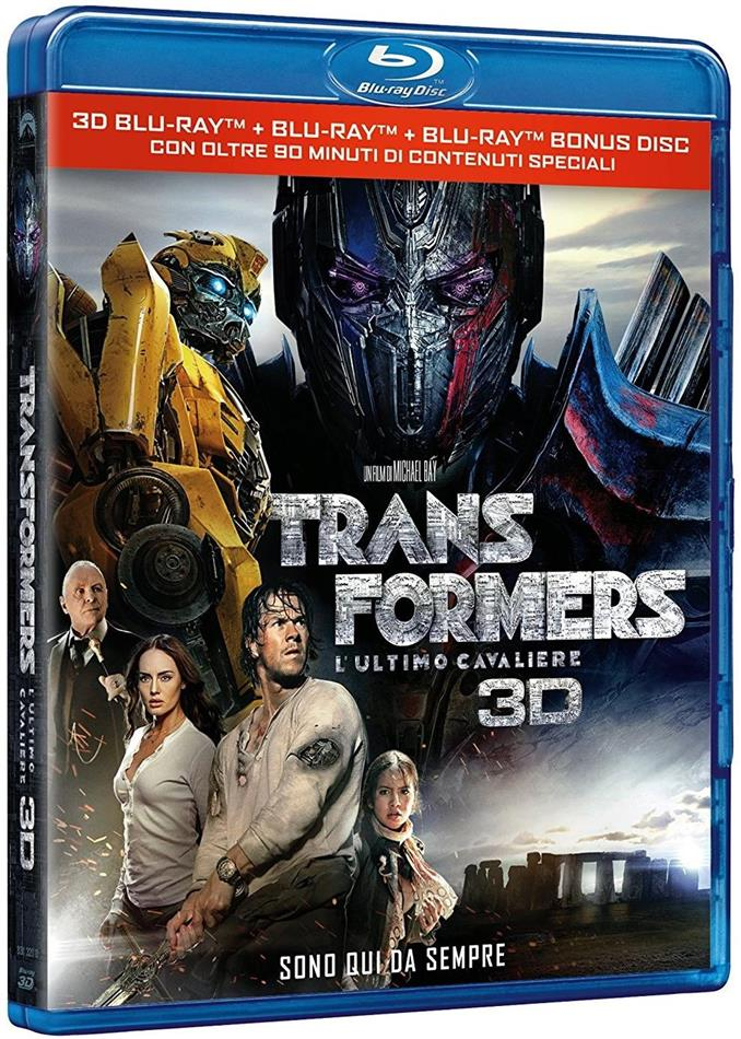 Transformers 5 - L'ultimo cavaliere (2017) (Blu-ray 3D + 2 Blu-rays)