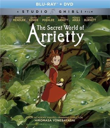 The Secret World Of Arrietty (2010) (Blu-ray + DVD)