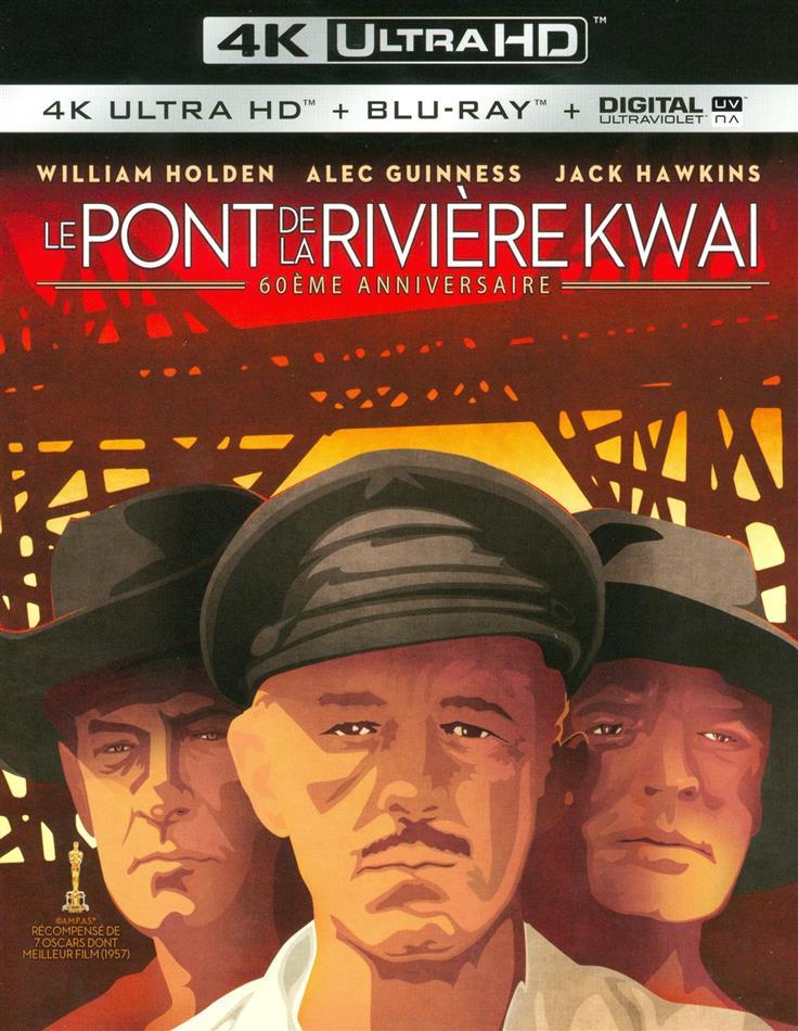Le pont de la rivière Kwai (1957) (60th Anniversary Edition, 4K Ultra HD + Blu-ray)