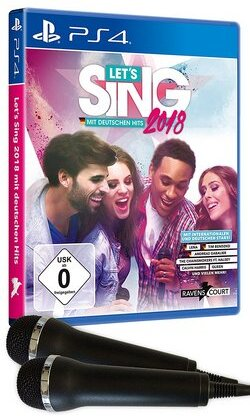 Let's Sing 2018 mit deutschen Hits + 2 Mics (German Edition)