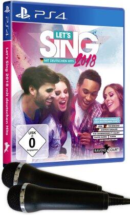 Let's Sing 2018 mit deutschen Hits + 2 Mics (German Edition)