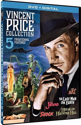 Vincent Price Collection - 5 Frightening Features