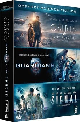Osiris - La 9ème planète / Guardians / The Signal (Box, 3 DVDs)