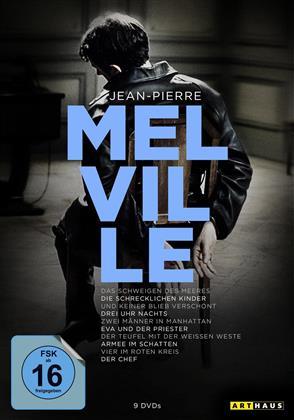 Jean-Pierre Melville (Arthaus, 100th Anniversary Edition, 9 DVDs)