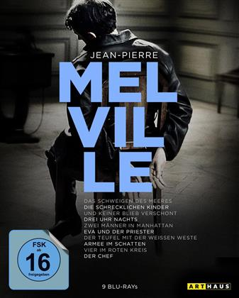 Jean-Pierre Melville (Arthaus, 100th Anniversary Edition, 9 Blu-rays)