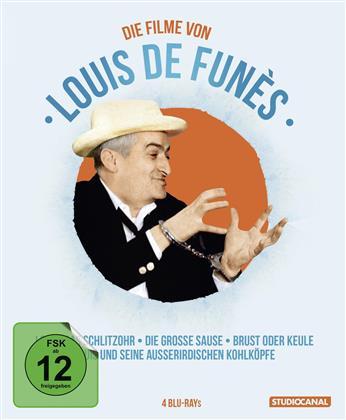 Louis de Funès Edition (4 Blu-rays)