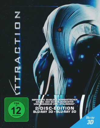 Attraction (2017) (Limited Edition, Steelbook, Blu-ray 3D + Blu-ray)