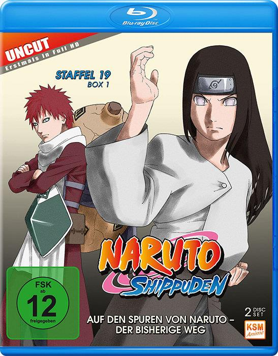 Naruto Shippuden - Staffel 19 Box 1 (Uncut, 2 Blu-ray)