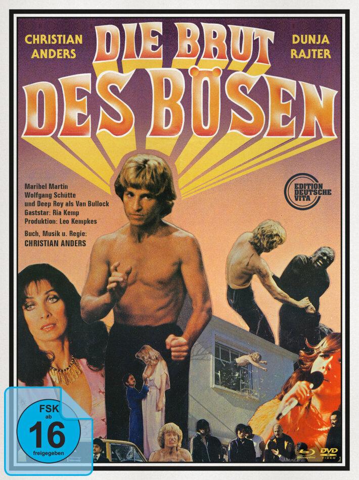 Die Brut des Bösen (1979) (Edition Deutsche Vita, Non censurata, Digipack, Schuber, Extended Edition, Edizione Limitata, Edizione Restaurata, Uncut, Blu-ray + DVD + CD)