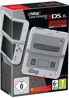 Nintendo New 3DS XL Console (SNES Edition)