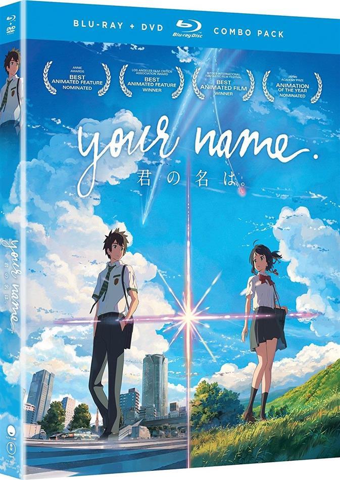 Your Name (2016) (Blu-ray + DVD)