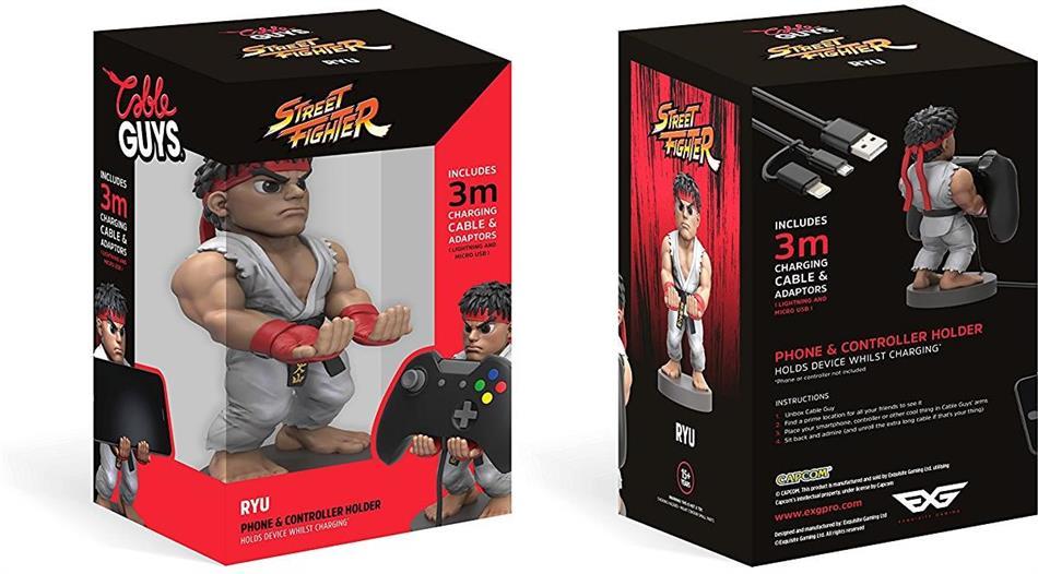Cable Guy (Controller Station) - Ryu Street Fighter V incl. 3m Ladekabel
