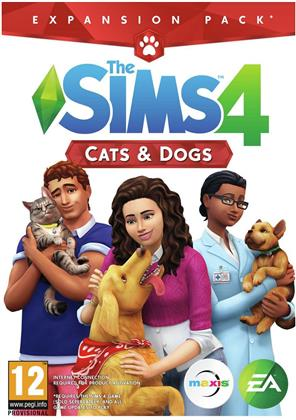 The Sims 4 - Addon Cats & Dogs - Code in a Box