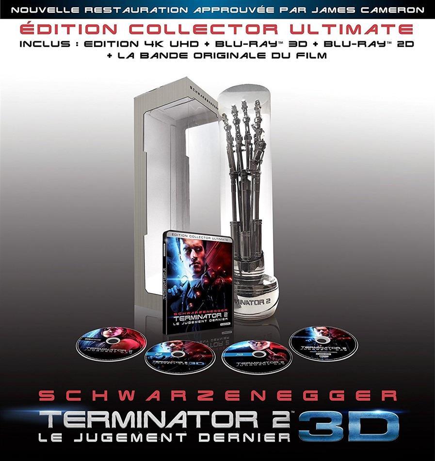 Terminator 2 (1991) (Edition Collector, Ultimate limitée numérotée, 4K Ultra HD + Blu-ray 3D (+2D) + CD)