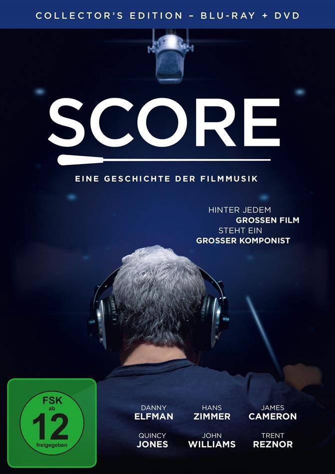 Score - Eine Geschichte der Filmmusik (2016) (Collector's Edition, Blu-ray + DVD)