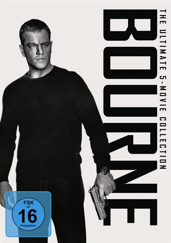 Bourne - The Ultimate 5-Movie Collection (5 DVDs)