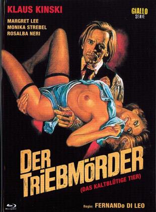 Der Triebmörder - (Das kaltblütige Tier) (1971) (Eurocult Collection, Giallo Serie, Cover E, Limited Edition, Mediabook, Blu-ray + DVD)