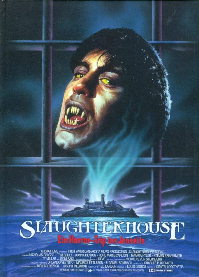 Slaughterhouse - Ein Horror-Trip ins Jenseits (1988) (Cover A, Collector's Edition, Limited Edition, Mediabook, Uncut, Unrated, Blu-ray + DVD)