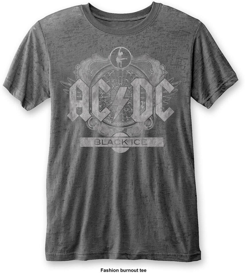 AC/DC - Black Ice (Burn Out) - Grösse M