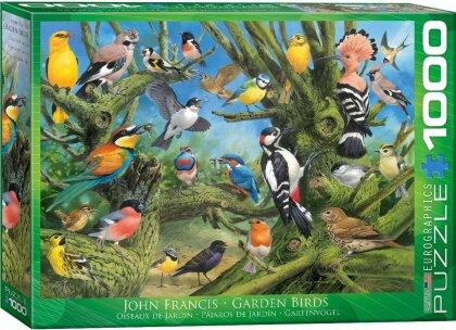 Garden Birds by Joahn Francis - 1000 Teile Puzzle
