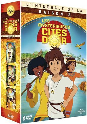 Les mystérieuses cités d'or - Saison 3 (6 DVDs)