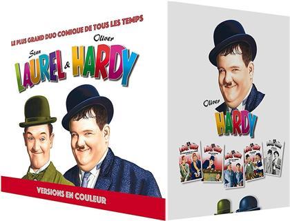 Laurel & Hardy - Versions en couleurs (11 DVDs)