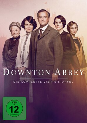Downton Abbey - Staffel 4 (Neuauflage, 4 DVDs)