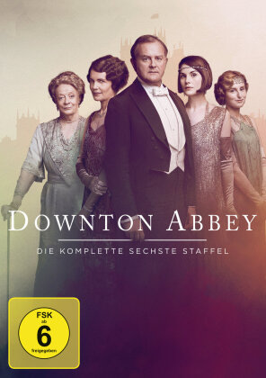 Downton Abbey - Staffel 6 (Neuauflage, 4 DVDs)