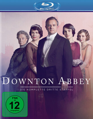 Downton Abbey - Staffel 3 (Neuauflage, 3 Blu-rays)